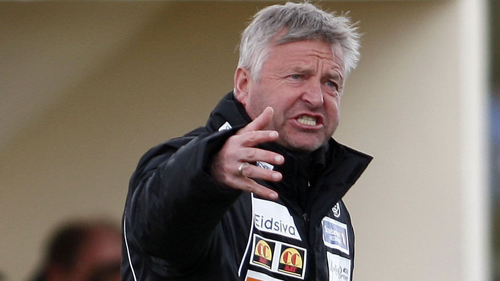Arne Erlandsen har lang erfaring som spiller og trener i Lillestrøm. I kveld møter han sin gamle klubb som trener for Moss i cupen.
