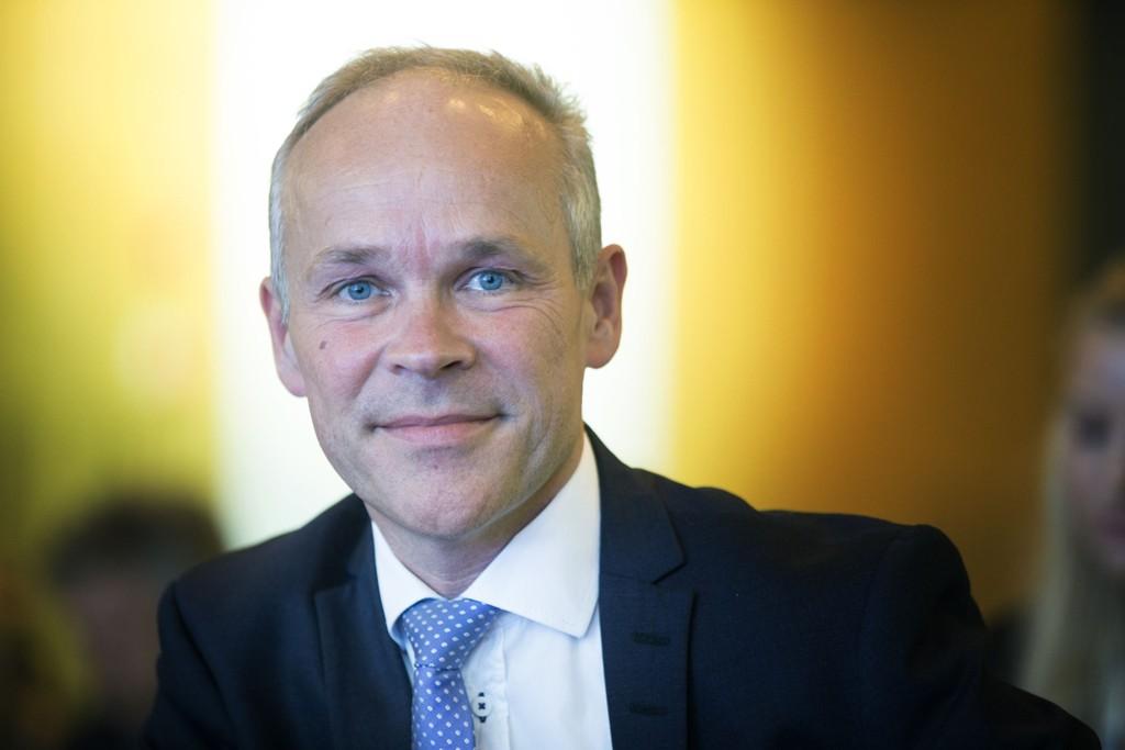 ÅPNER PENGEPUNGEN: Kommunal- og moderniseringsminister Jan Tore Sanner.