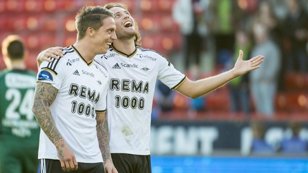 Rosenborg møter Stabæk på Lerkendal 16. mai. Kampen går direkte på TV 2.
