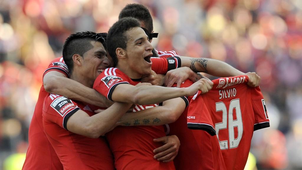 Benfica-spillerne har hatt usedvanlig mye å juble for denne sesongen.