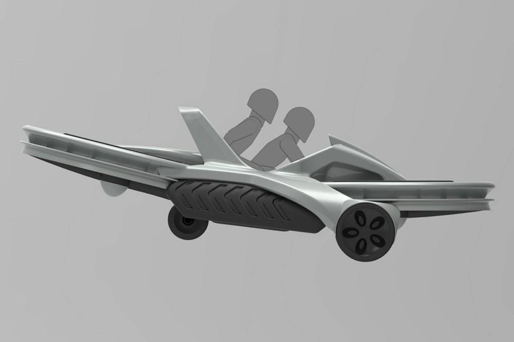 Aero-X-sykkelen kan bære en last på 140 kg mens den i tillegg har plass til en ekstra passasjer.