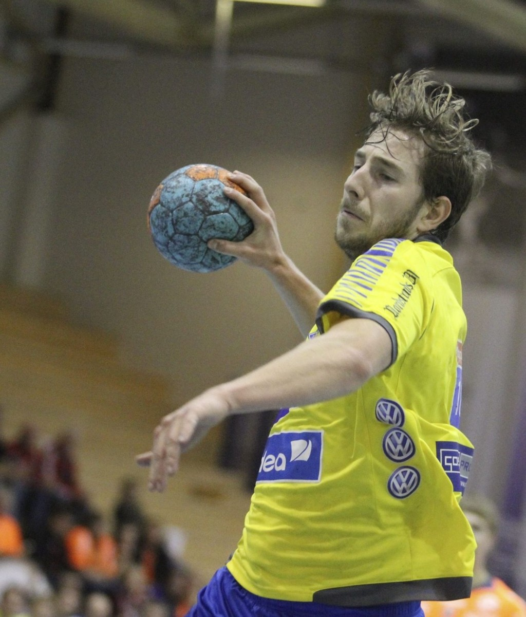 Til Tyskland: Stian Brevik spilte ikke siste hjemmekamp.