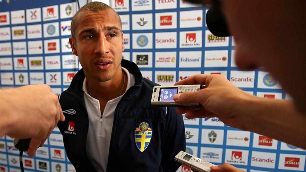 Den tidligere scoringsmaskinen Henrik Larsson ble ansatt som trener i Falkenberg før denne sesongen.