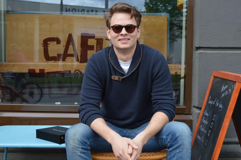 SATSET ALT: Espen Kopperud har jobbet døgnet rundt det siste året for å få sitt nye firma på beina. Han mener det er viktig å våge for å vinne.
