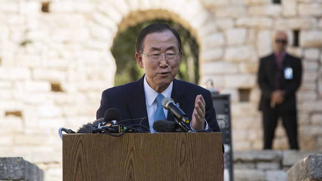 FULL SLAKT: FNs utviklingsprogram (UNDP) feller en nådeløs dom over bistanden til Afghanistan - der Norge har bidratt med milliarder. På bildet FNs generalsekretær Ban Ki-moon.