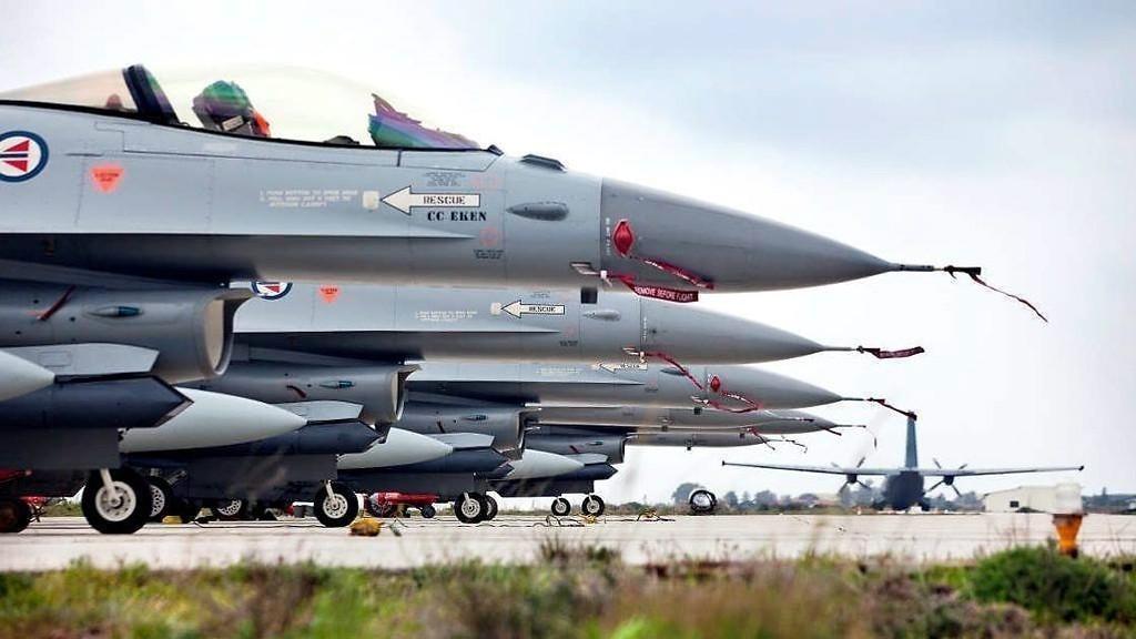 NORSKE F-16: Norske styrker deltok i den Nato-ledete operasjonen «Unified Protector» i Libya.