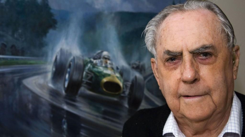 LEGENDE: Jack Brabham ble 88 år gammel.