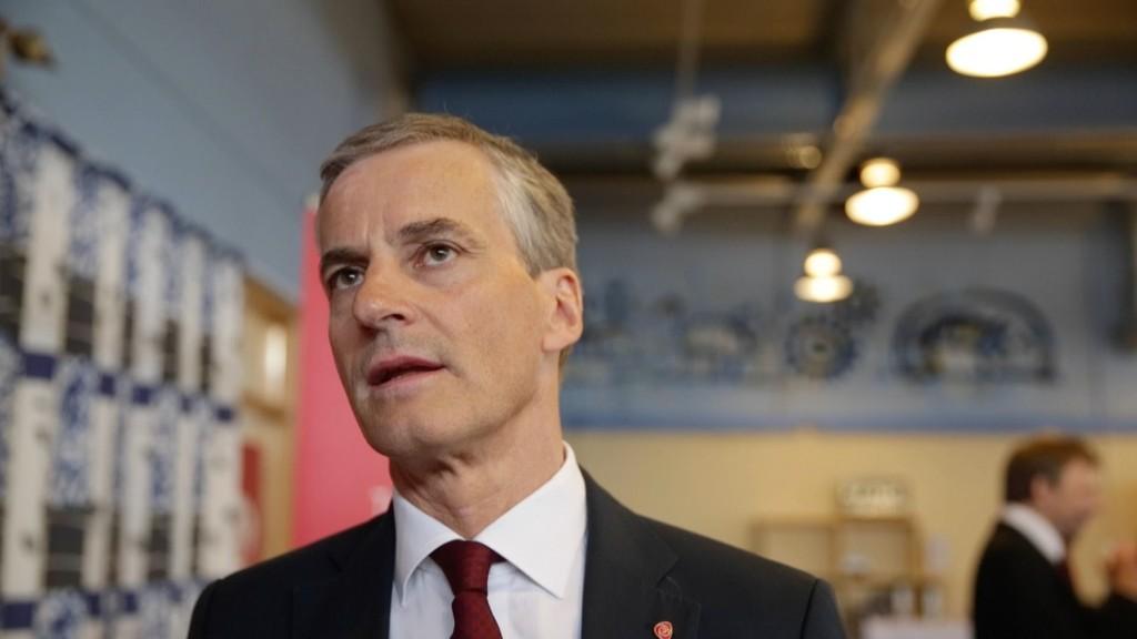 Jonas Gahr Støre ble presentert som ny AP-leder mandag.