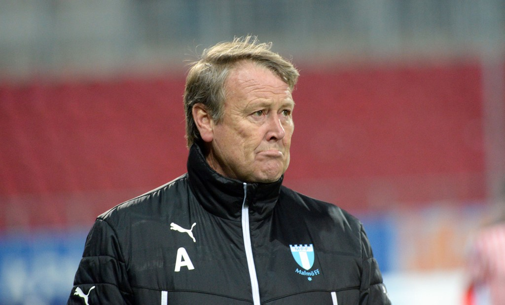 HAR SUKSESS: Åge Hareides Malmö gjør det godt i Allsvenskan.