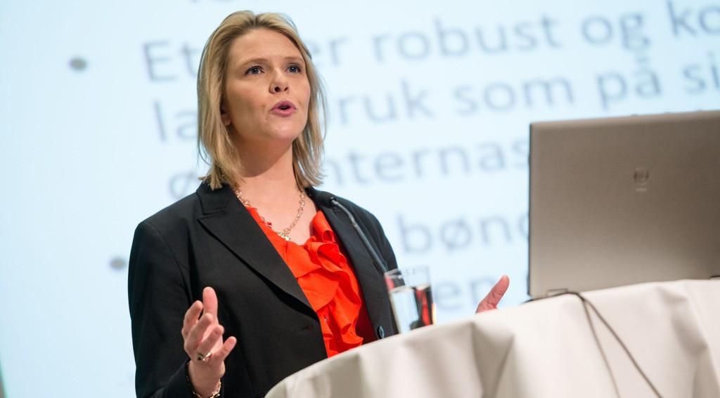 Landsbruks- og matminister Sylvi Listhaug får ikke støtte fra Arbeiderpartiet i jordbruksoppgjøret.
