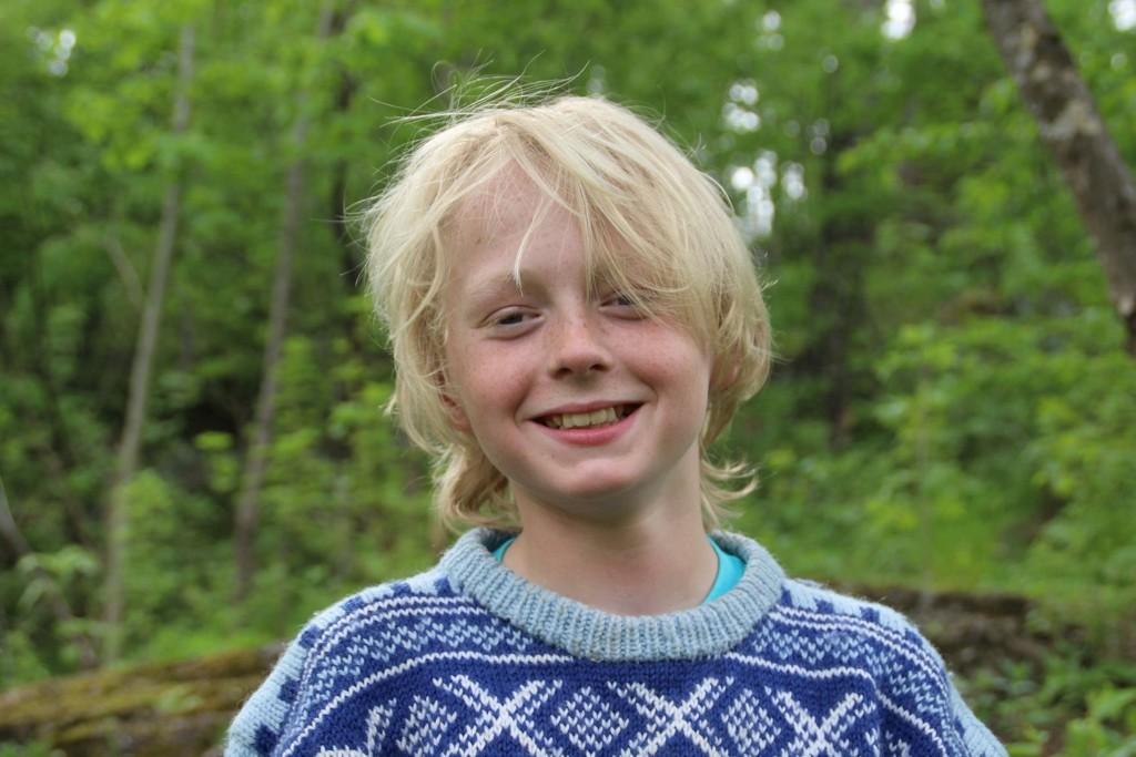 Karl Andersen Skogli (11) har en interesse for historie som er helt utenom det vanlige. Sammen med familien har han oppsøkt steder andre bare leser om i historiebøkene.