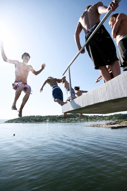 Oslo har fått en forsmak på sommeren, men snart forsvinner den igjen.