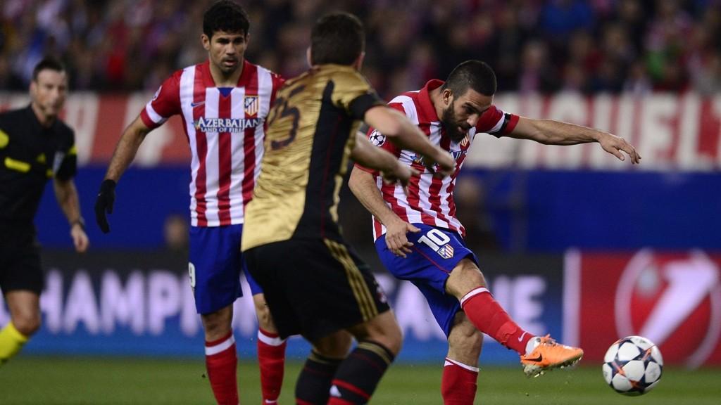 REKKER FINALEN? Både Diego Costa og Arda Turan kan komme til å rekke Champions League-finalen mot Real Madrid.