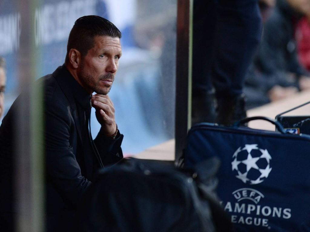 TRENERSTJERNE: Diego Simeone kan se tilbake på en fantastisk sesong. Lørdag kan han krone den med å vinne Champions League.