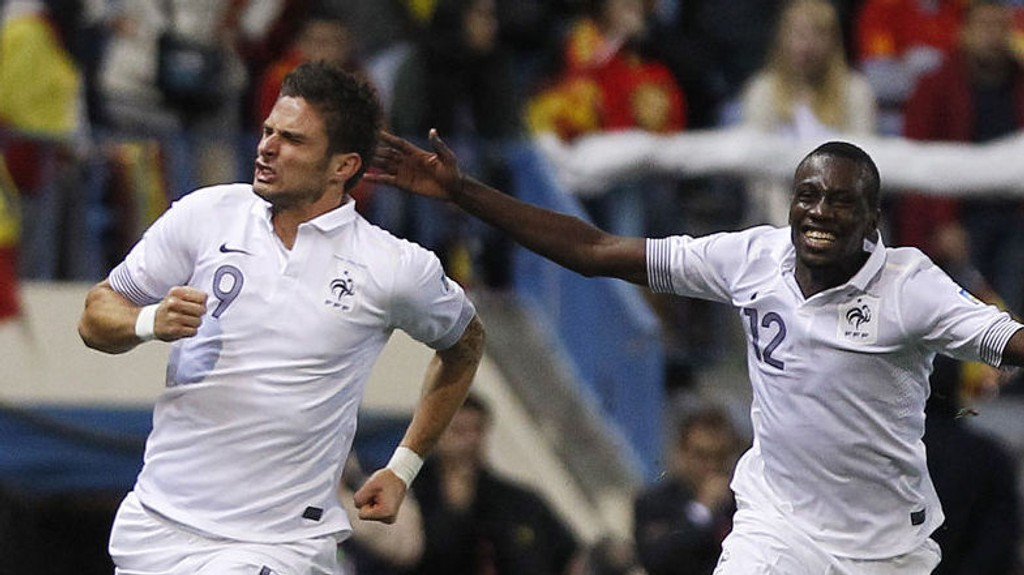 Arsenal-stjernen Olivier Giroud spiller trolig fra start mot Norge i kveld.