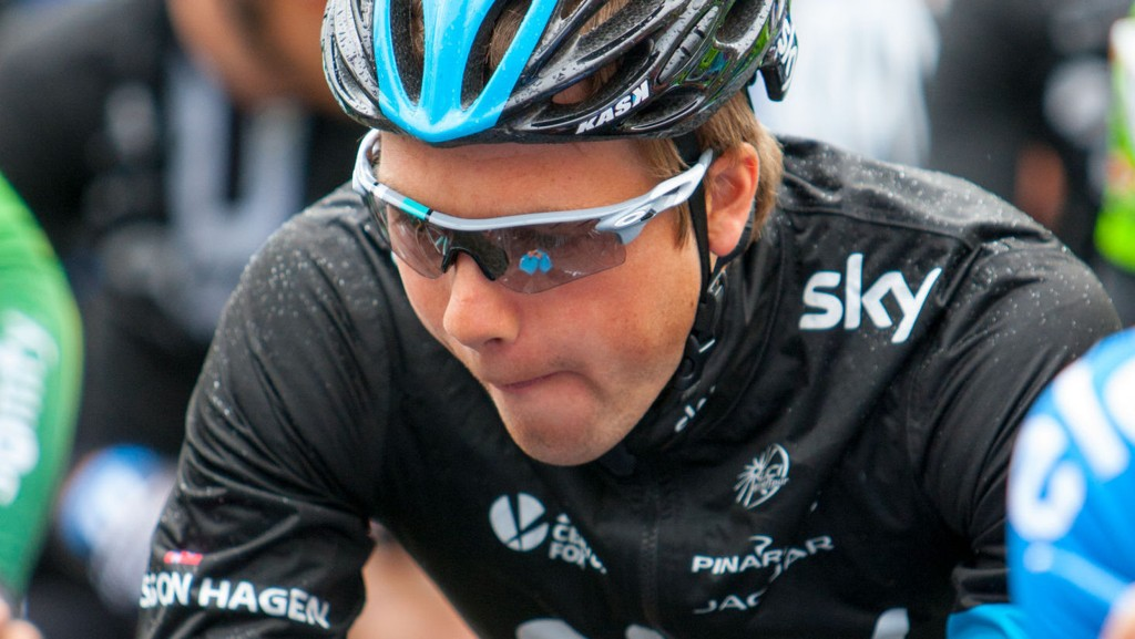 REISER HJEM: Edvald Boasson Hagen må trekke seg fra Giro d'Italia som følge av skader.