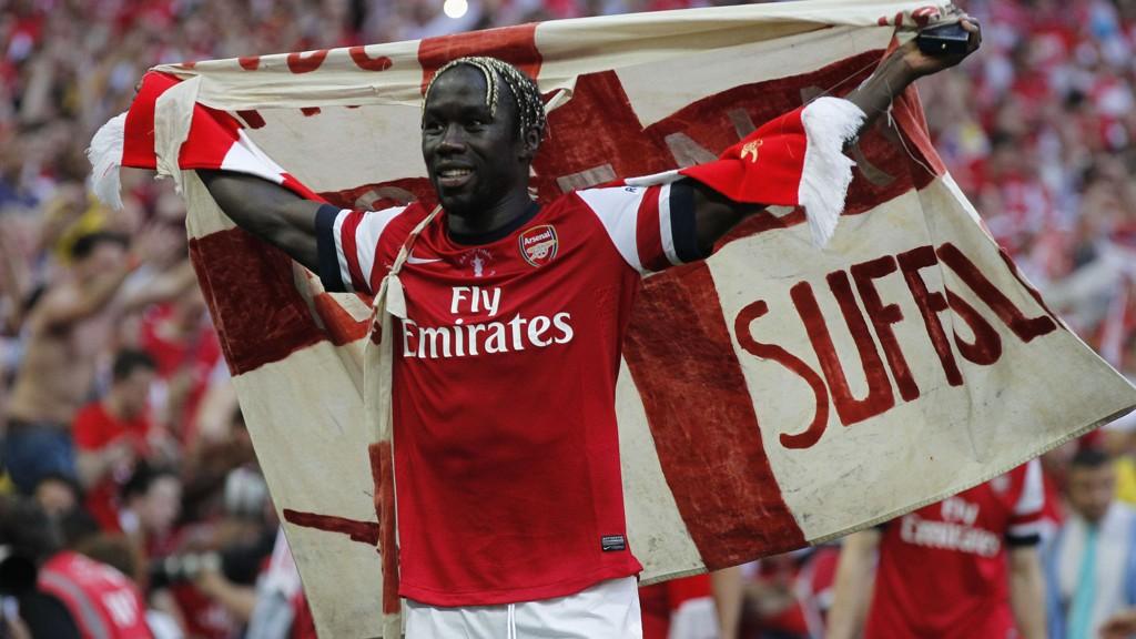 AVSKJEDEN: Bacary Sagna bekrefter at han forlater Arsenal.