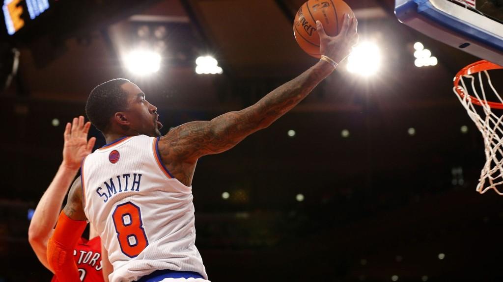 TIL LONDON: I november kan du se New York Knicks og J.R. Smith i aksjon mot Milwaukee Bucks i London.