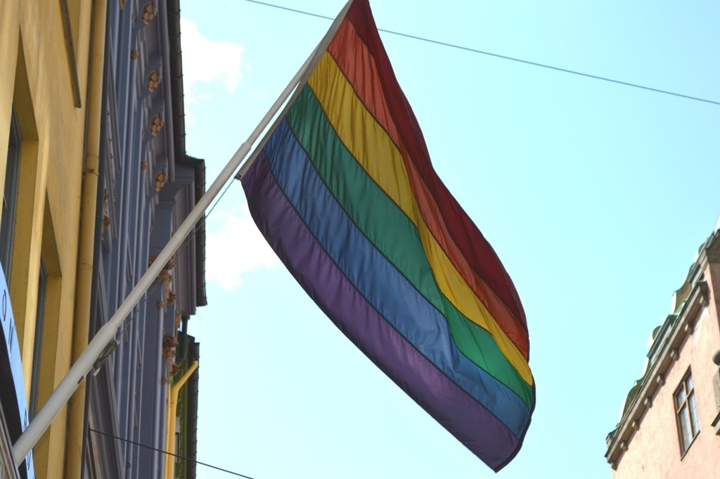 NFF SIER NEI TIL HOMOFLAGG: NFF ønsker ikke at publikum tar med seg homoflagg under lørdagens landskamp mot Russland.