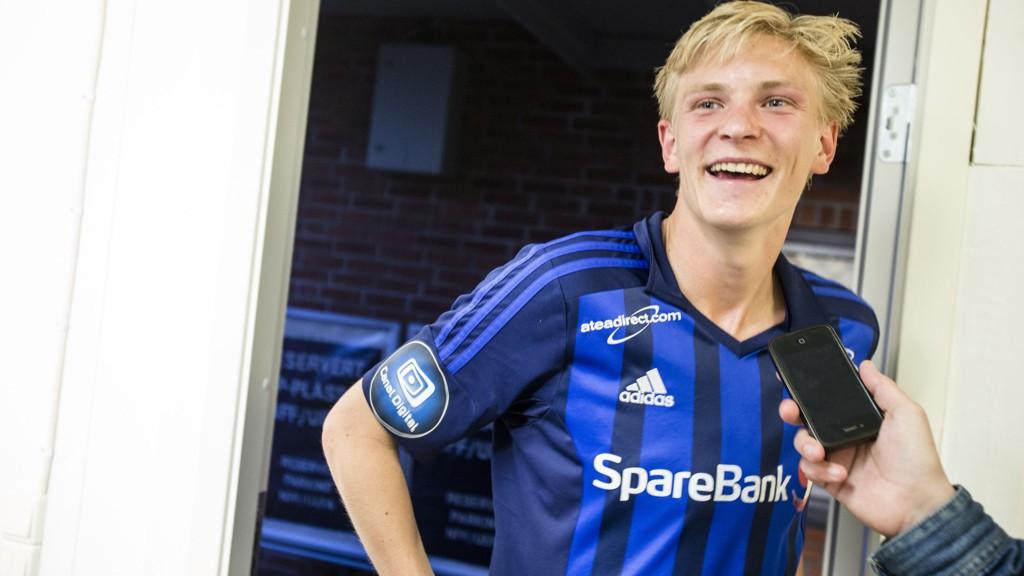 TIL NEDERLAND: Morten Thorsby er på vei til nederlandske Herenveen.