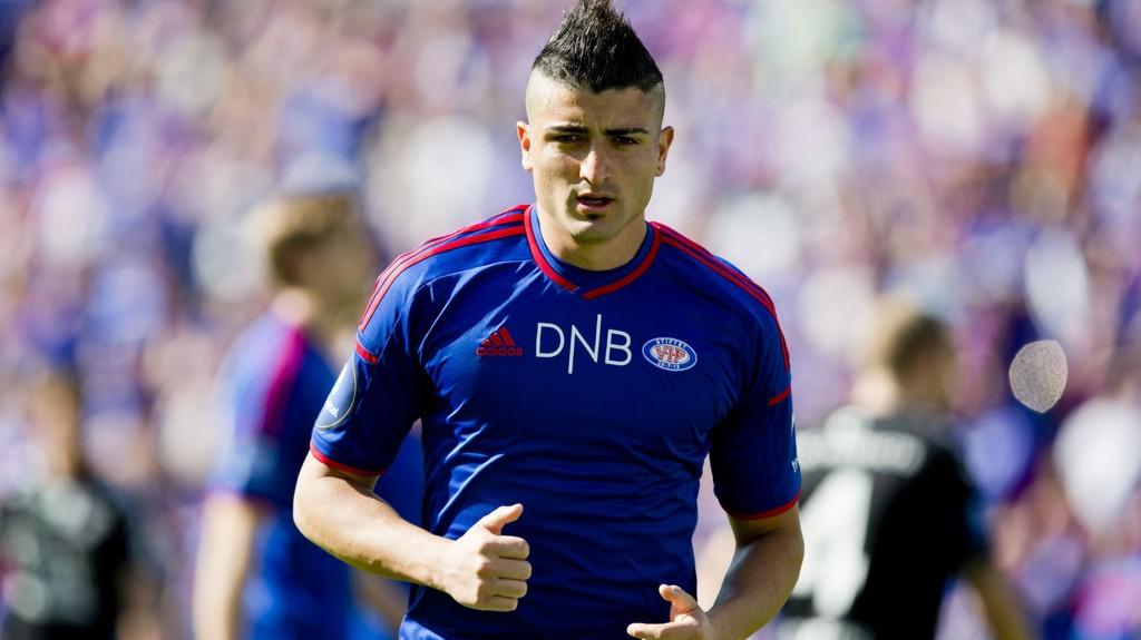 TIL VM: Vålerengas Diego Calvo skal representere Costa Rica under VM. Det skal også Aalesund-spilleren Michael Barrantes og RBKs Cristian Gamboa.