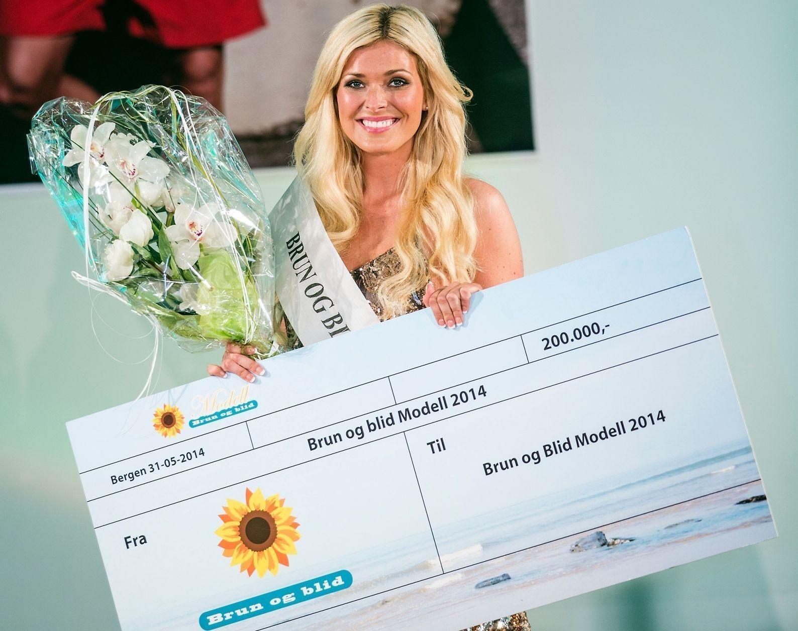 VANT: Eirin Hagstrøm fra Fredrikstad vant lørdag en av landets største modellkonkurranser.