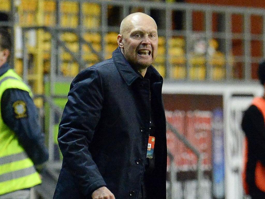 ALVORLIG SYK: Elfsborg-trener Klas Ingesson.