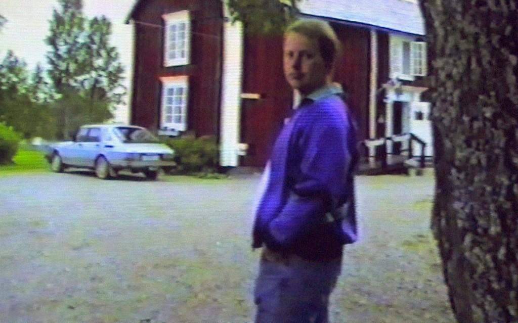 Et gammelt bilde av den draps- og voldtektsdømte Anders Eklund.
