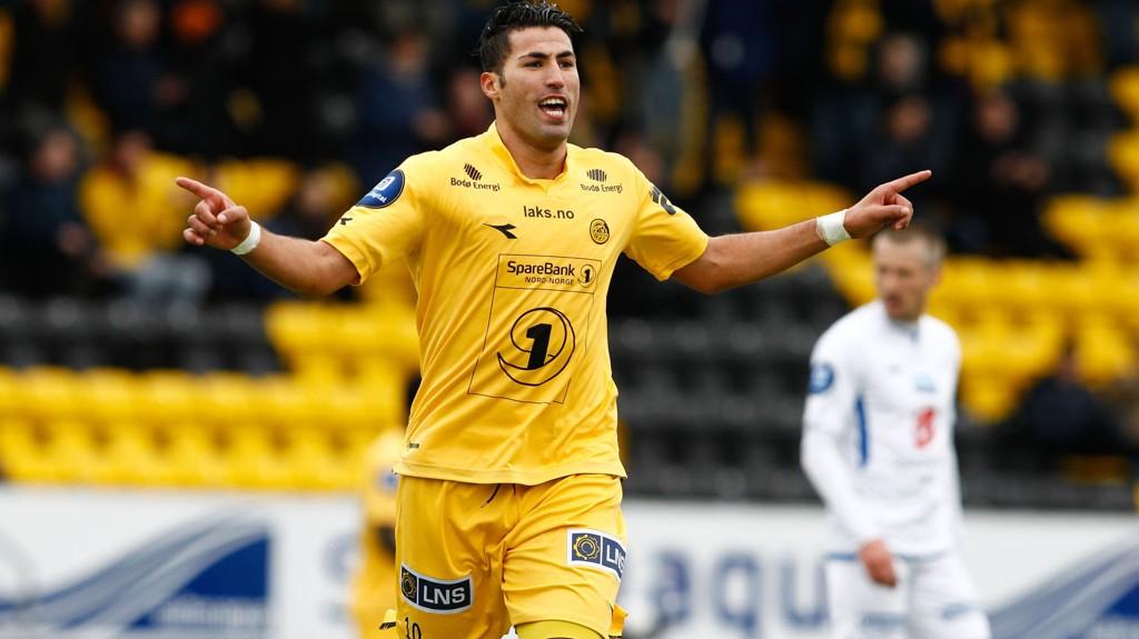 I TRØBBEL: Ibba Laakab skal ha stjålet under en turnering i Bodø. Han hevder imidlertid sin uskyld.