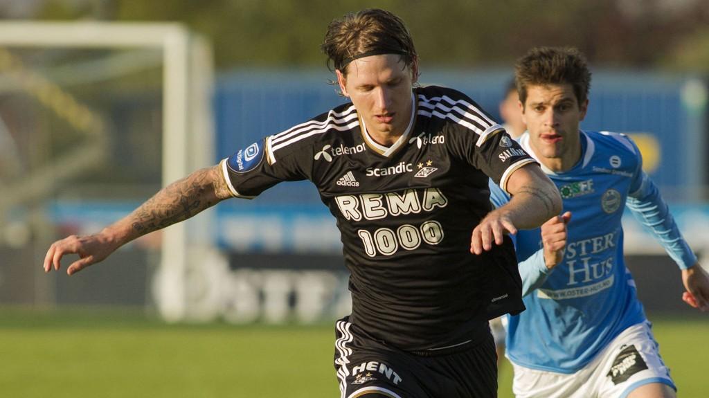 VIL BORT: Stefan Strandberg ønsker seg bort fra Rosenborg. Mandag nektet han å spille for trønderne.