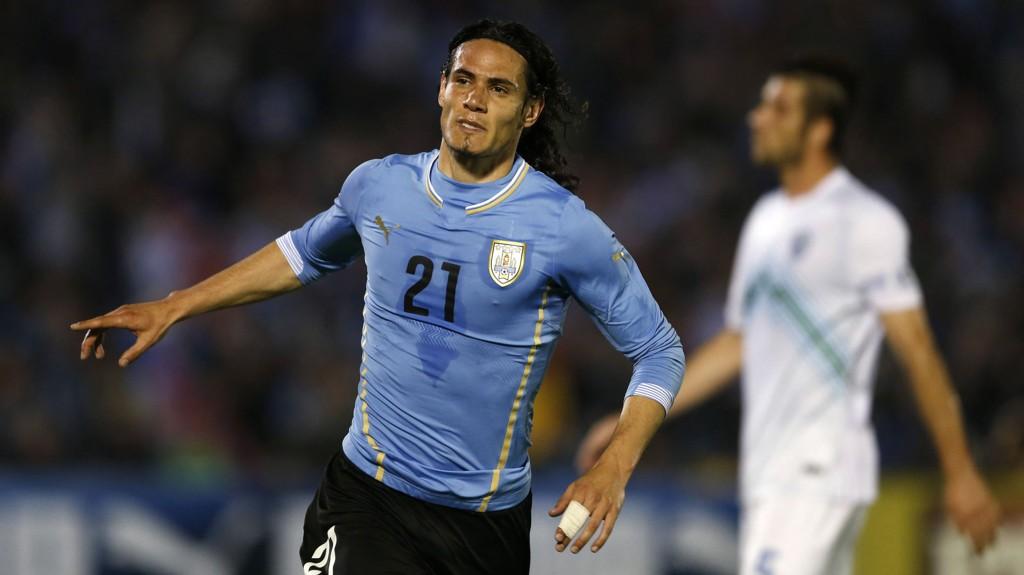Edinson Cavani er mannen som skal få Uruguay til å glemme skadde Luis Suarez.