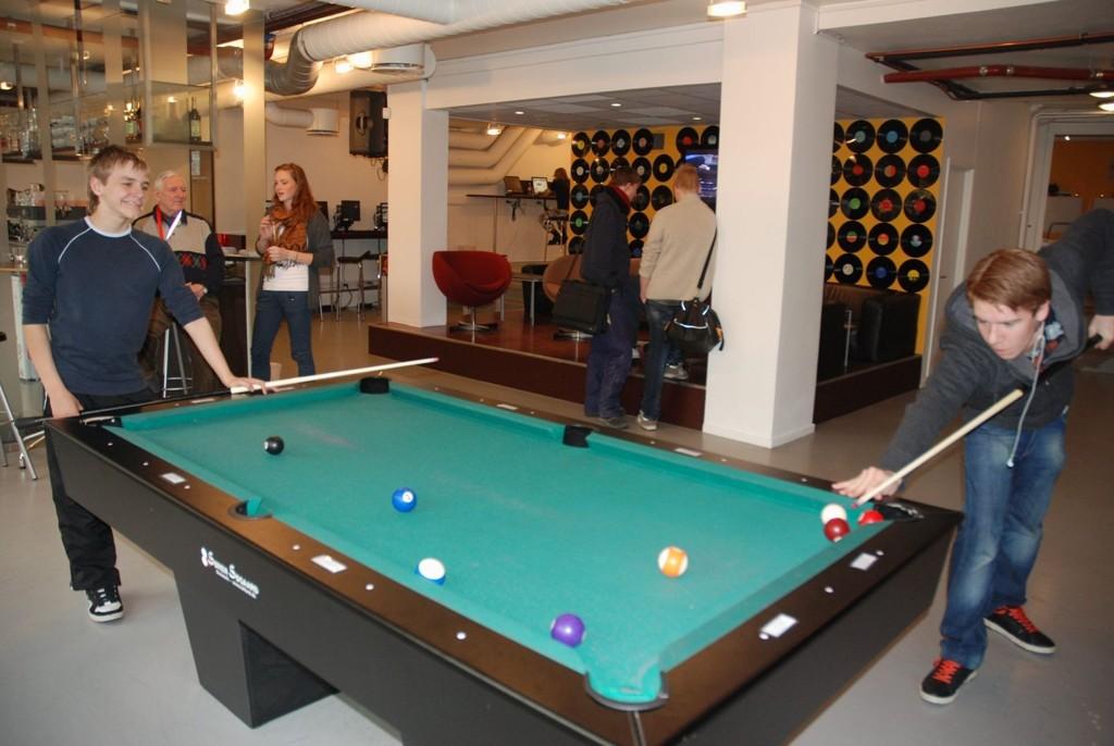 Fagforbundet er bekymret for kutt i tilbudet til unge i Bydel Frogner. Her fra Café Condio.