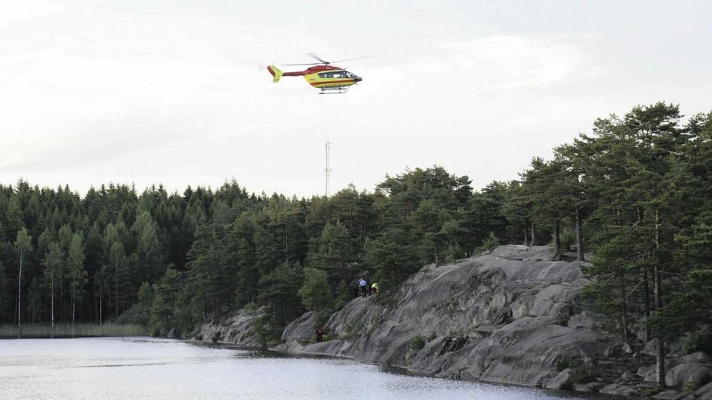 OMKOM: Både 15-åringen og 16-åringen ble hentet livløse opp av vannet i tredje dam i Bjørndalen lørdag kveld. 15-åringen omkom på Rikshospitalet søndag. Tilstanden for den andre gutten er fremdeles kritisk.