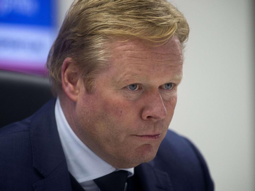 TAR OVER SOUTHAMPTON: Ronald Koeman ble mandag bekreftet som Southamptons nye manager.