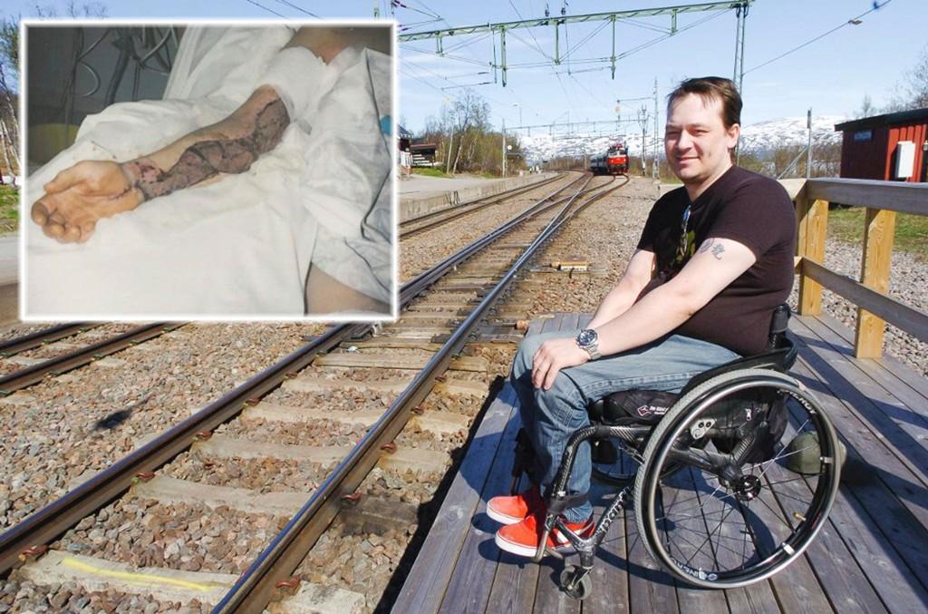 Tore Andre Lie (37) betaler en høy pris for et feilsteg han ikke husker. Han fikk 16.000 volt strøm gjennom kroppen, og er i dag lam og sitter i rullestol. Det hele skjedde under et utdrikkingslag. Nå forteller han sin historie for å stoppe stygge rykter.