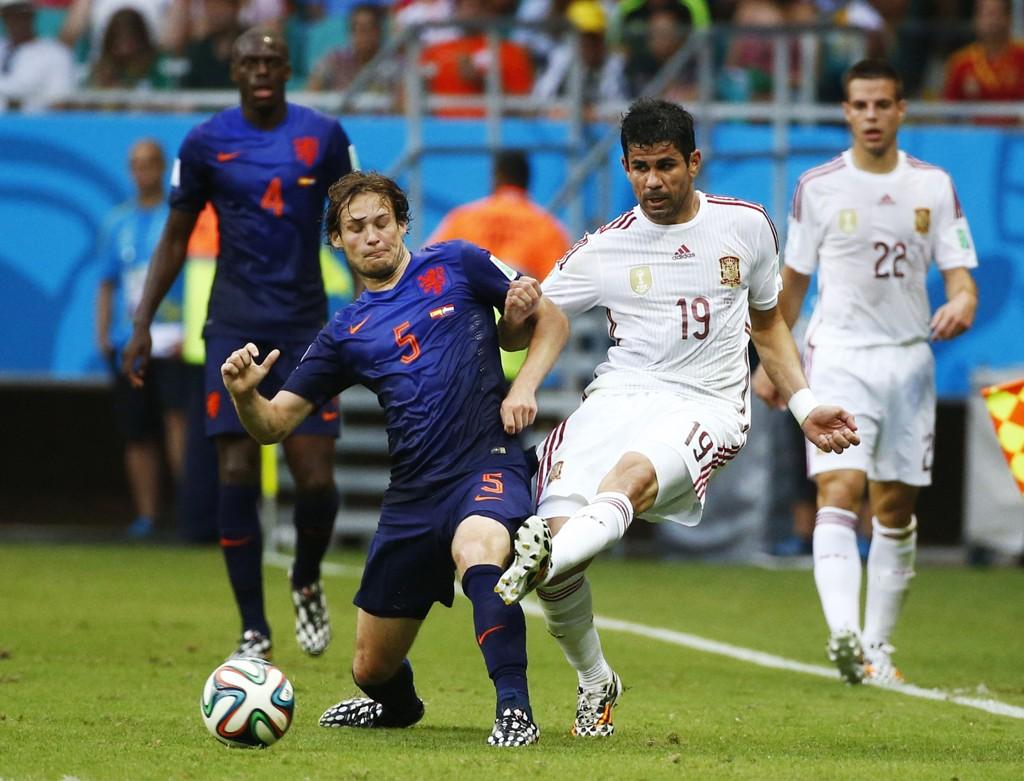 I FOKUS: Daley Blind har imponert mange med sin innsats mot Spania.