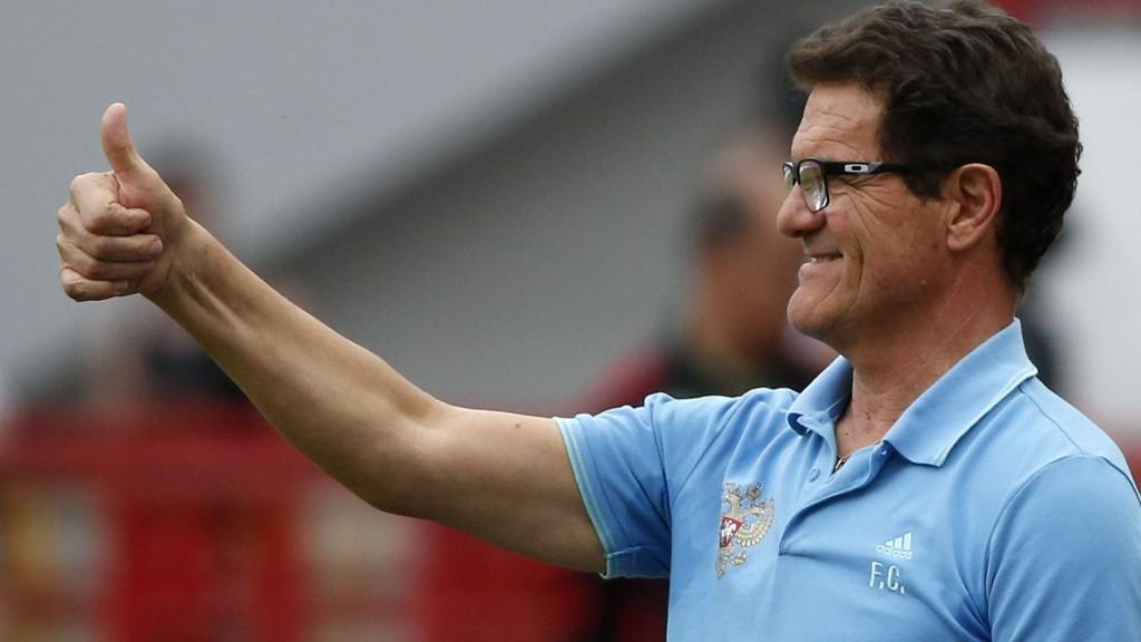 Italieneren Fabio Capello har hatt suksess i sine to år som sjef for det russiske landslaget.