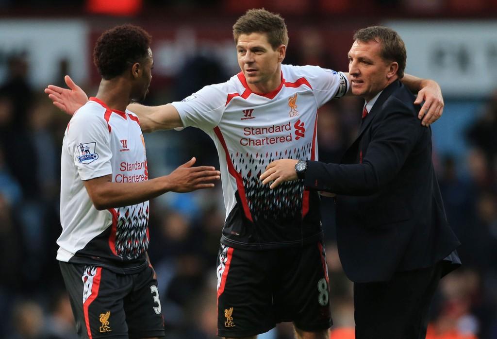 NY SESONG: Steven Gerrard og Liverpool ble nummer to sist sesong.