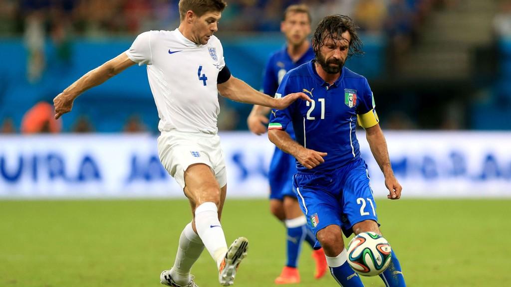 Andrea Pirlo og de andre italienske spillerne kommer til å bli kokvarme i formiddagskampen mot Costa Rica, og det er ikke sikkert Englands banemenn vinner kampen.