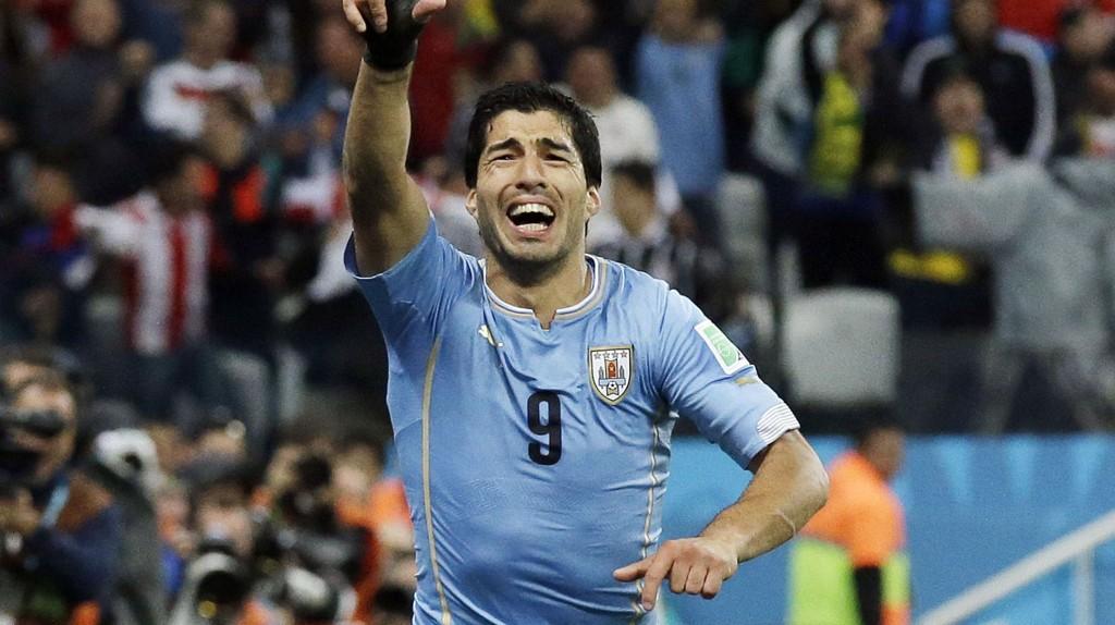RØRT: - Jeg har drømt om dette. Nå fikk dere se, sa Luis Suarez etter kampslutt.