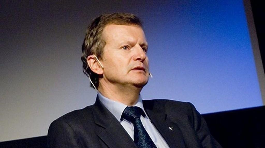 Telenor-sjef Jon Fredrik Baksaas. Ap frykter at Telenor kan ende på russiske hender om staten selger seg ned i selskapet.