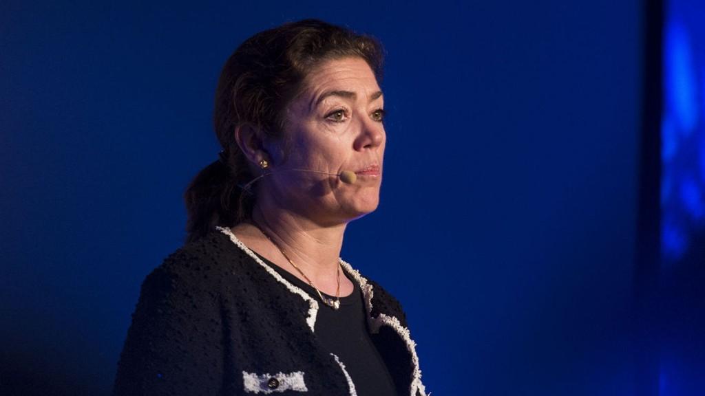 Administrerende direktør i NHO, Kristin Skogen Lund, vil ha minstelønn.