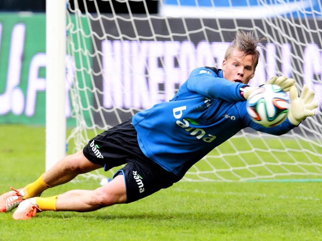 PREMIER LEAGUE NESTE? Ørjan Nyland har vekket interesse fra flere hold etter å ha spilt godt for Molde og det norske landslaget.