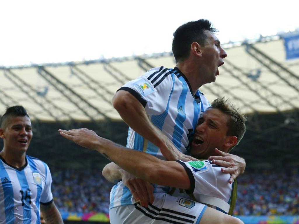 FRELSEREN: Lionel Messi ventet lenge med å avgjøre kampen mellom Argentina og Iran.