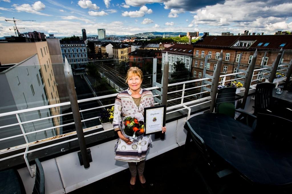 Daglig leder, Gunvor Stray Nordberg, ved Kirkens Bymisjon St. Halvardshjemmet topper Oslo-statistikken for trivsel blant pårørende i 2013