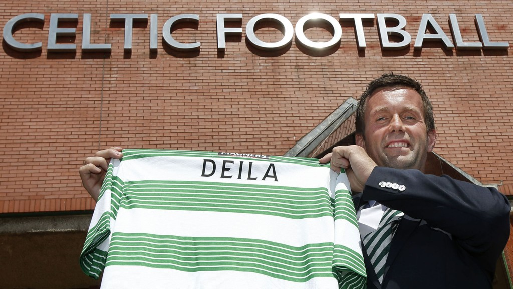 FERSK I CELTIC: Ronny Deila ble nylig ansatt som manager i Celtic. Allerede i juli skal han i aksjon i Champions League-kvalifisering.
