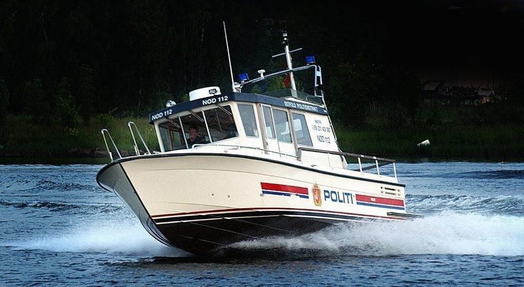 FORSVANT: Det er denne båten som i natt ble stjålet fra sin fortøyningsplass på Kråkerøy.