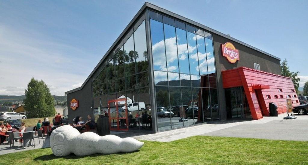 BYGGET BERGYS: Notodden Mur- og entreprenørforretning har blant annet bygget Bergbys på Notodden.