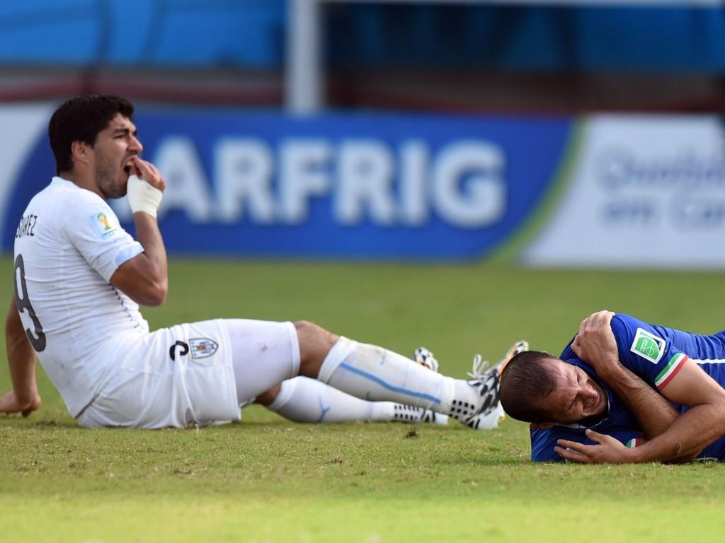 BET MOTSPILLER IGJEN: Luis Suarez er nok en gang i trøbbel.