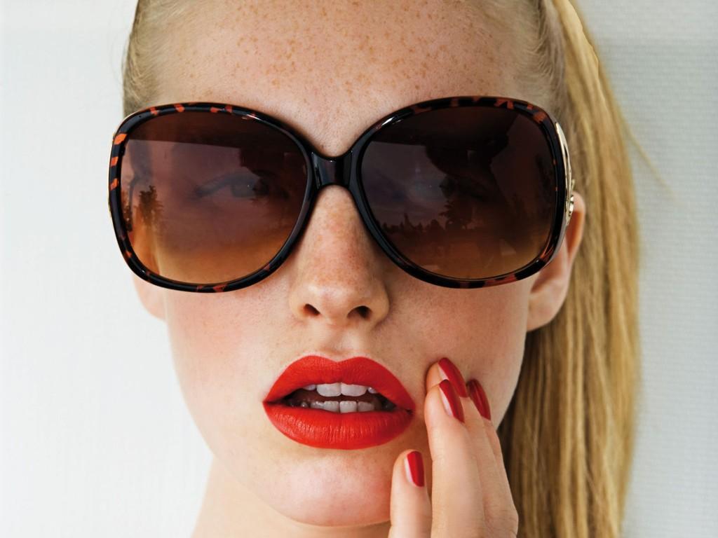 Røde lepper er den raskeste veien til glamour!